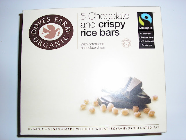 Doves Farm Organic Chocolate and Crispy Rice Bar