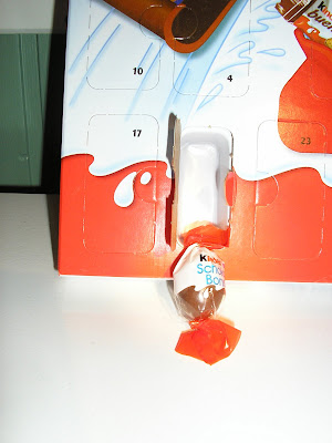 Kinder - Day 1 of My advent calendar!!!