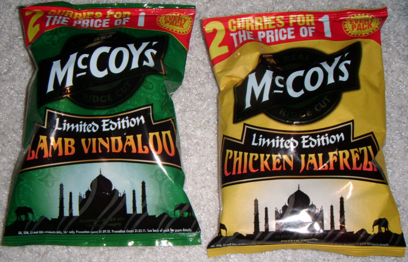Foodstuff Finds Mccoys Limited Edition Chicken Jalfrezi