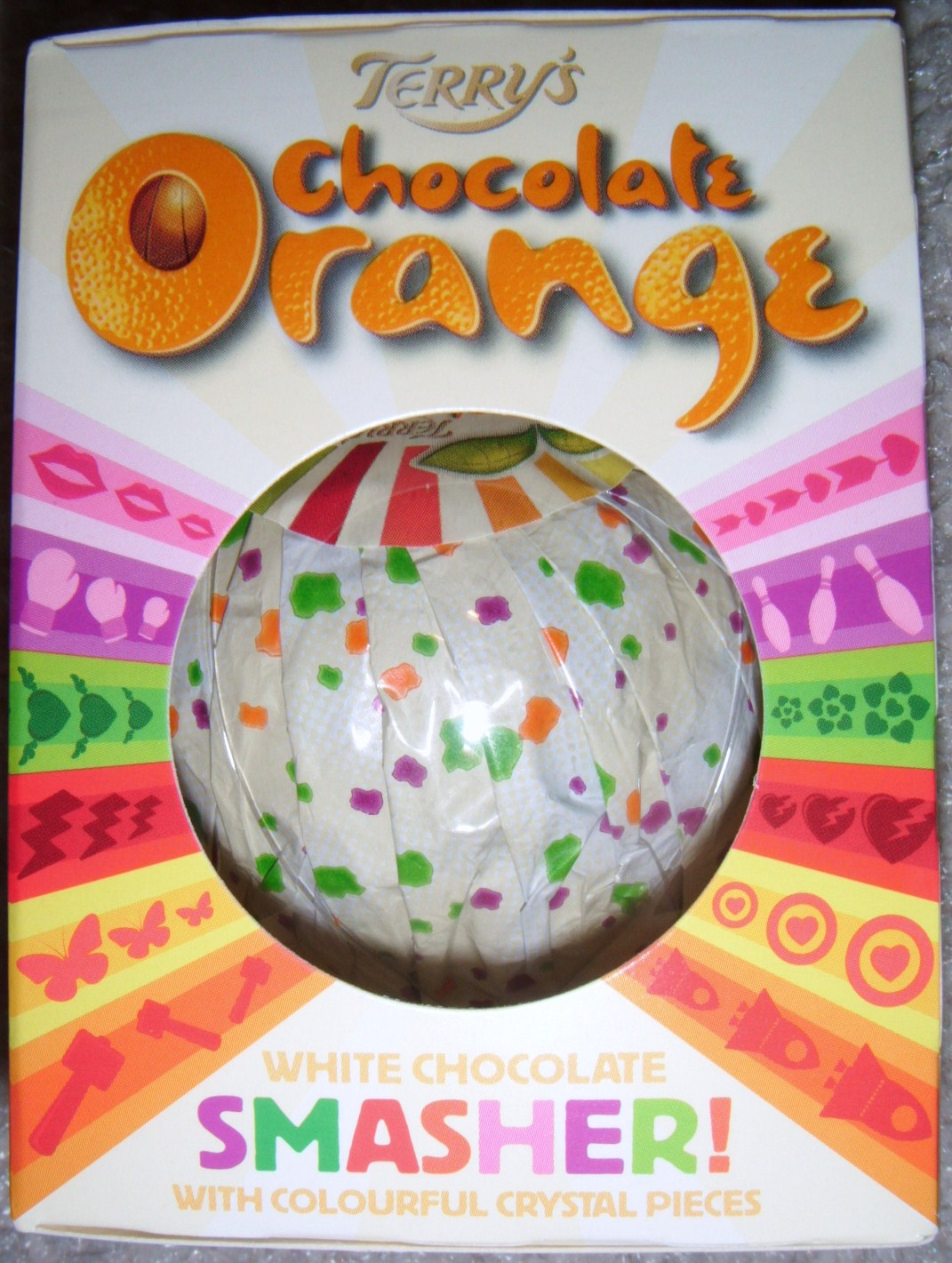 Chocolate Orange With Popping Candy