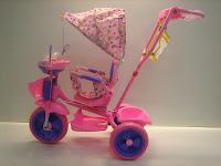 3 Sepeda Roda Tiga GOLDBABY 18-9 Dolls in PINK 3