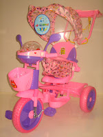 1 Sepeda Roda Tiga GOLDBABY 18-9 Dolls in PINK 1