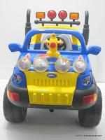 1 Mobil Mainan Aki PLIKO PK889N POLICE 8