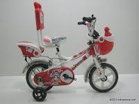 1 Sepeda Anak EVERGREEN AH42 MONKEY KING - Sandaran 12 Inci