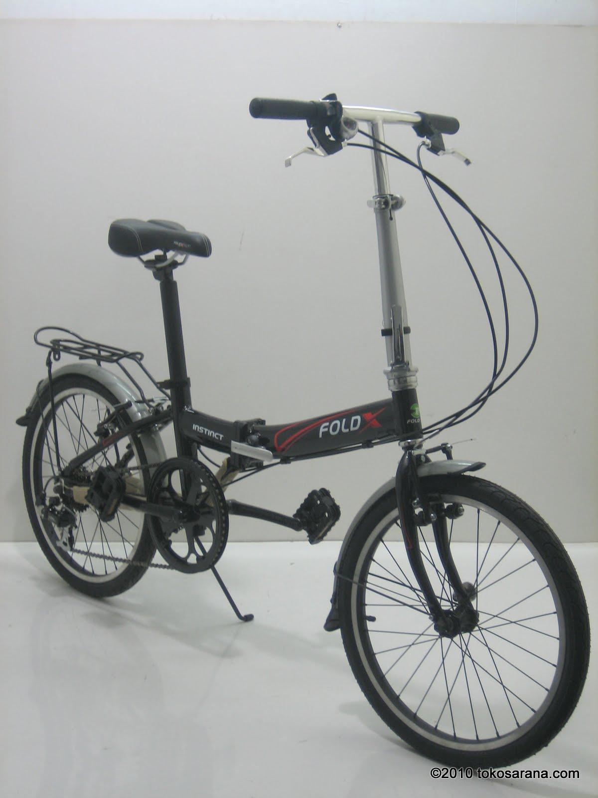 BINTANG HARAPAN: Sepeda Lipat FOLD-X INSTINCT 20 Inci