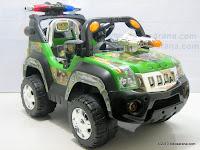 2 Mobil Mainan Aki PLIKO PK899N COMBAT JEEP