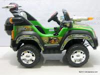 3 Mobil Mainan Aki PLIKO PK899N COMBAT JEEP