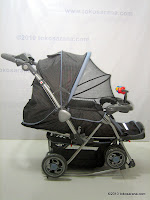 Kereta Bayi BABYDOES 360LN DASH dengan Ayunan