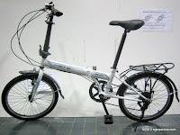 Sepeda Lipat ELEMENT BEST 7 Speed Shimano 20 Inci