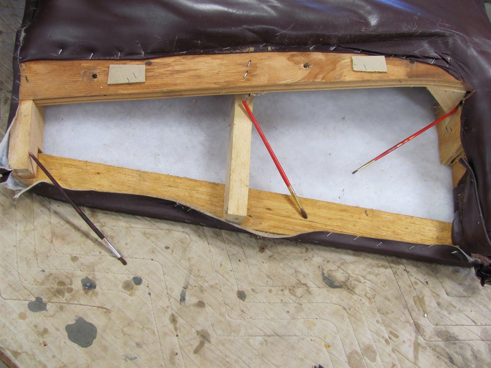 recliner chair handle broken three legged antique thomas nelson furniture restoration arm