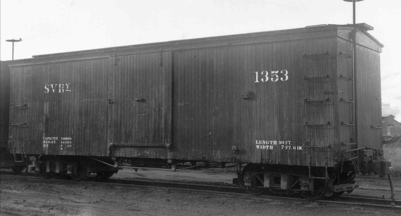 Boxcar 1353, Historic Image.