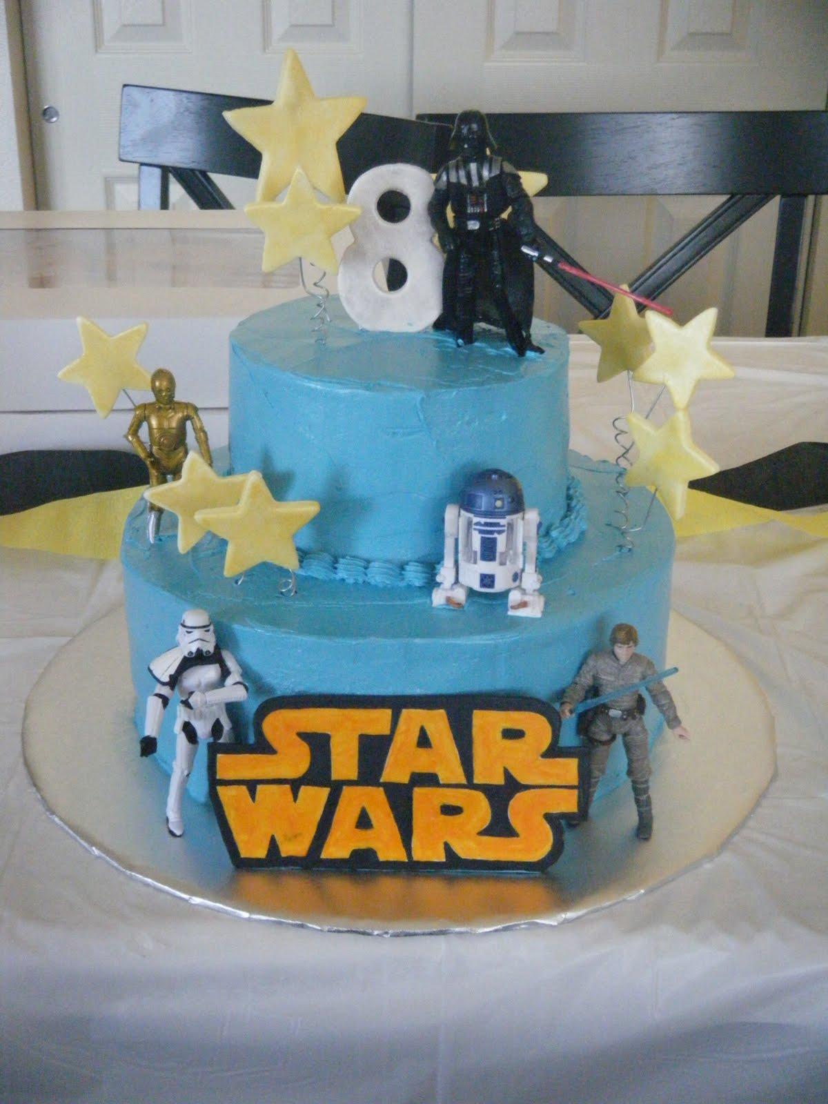 Cakessica Star Wars Birthday Cake