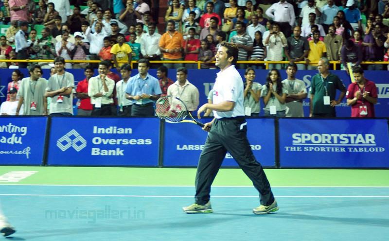 Surya Playing Aircel Chennai Open 2011 Stills, Photo -2196