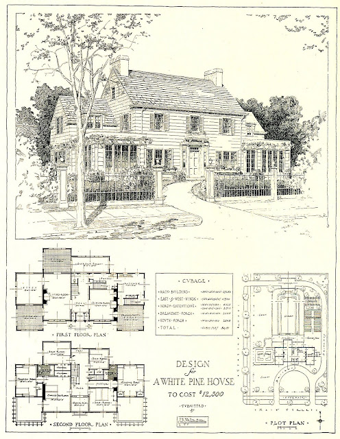 Architectural Plans for A Mr Blandings Type Dream House costing