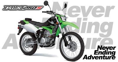Harga Motor Kawasaki Ninja KLX 250S 2013