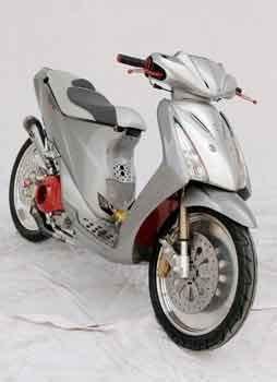 suzuki spin 125 modified kelas fashion