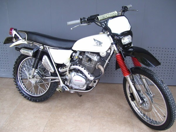 1977 honda xl 125 classic and vintage motorcycles. Black Bedroom Furniture Sets. Home Design Ideas