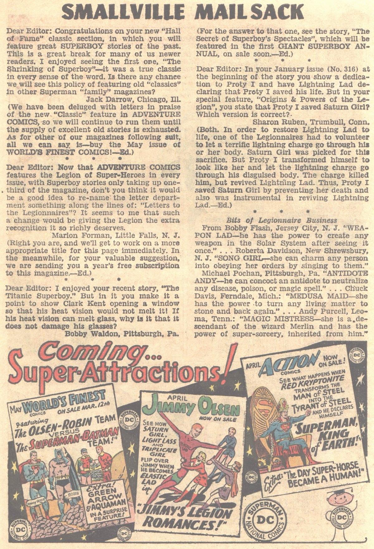 Read online Adventure Comics (1938) comic -  Issue #319 - 23
