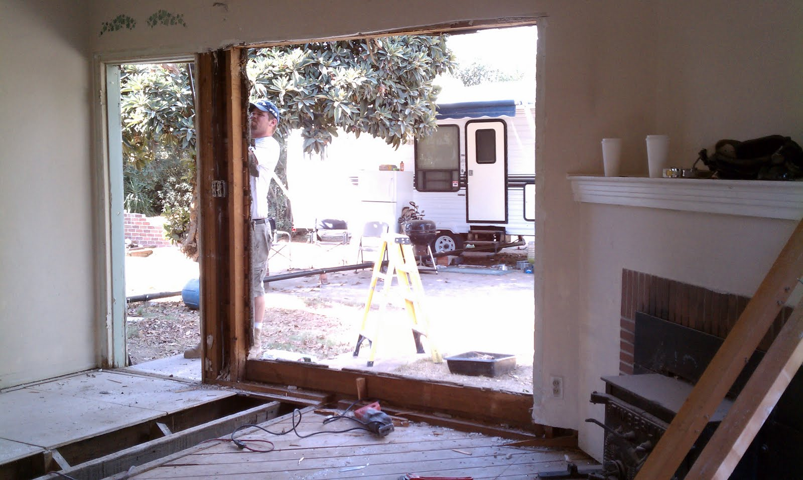 The Morse Project Sliding Glass Door And Window Placed In