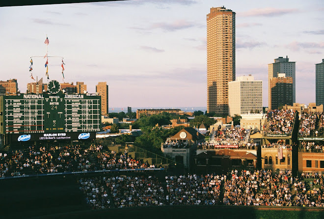Chicago from Wrigley Field