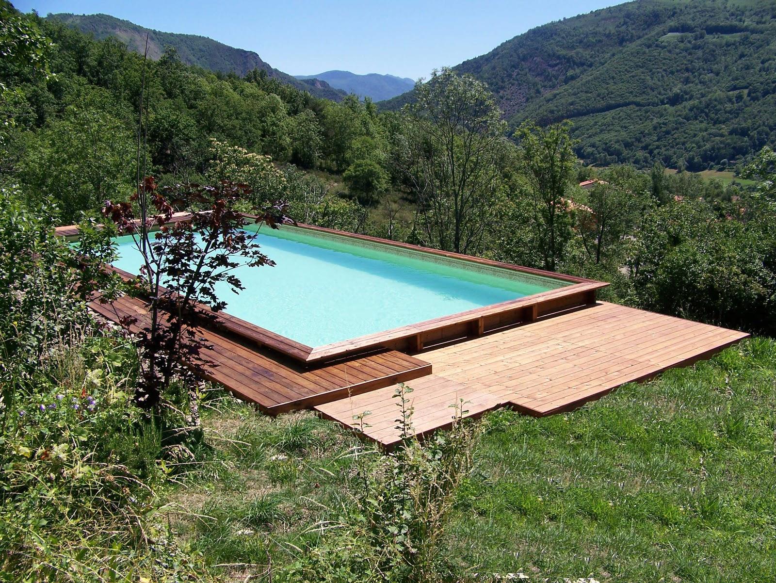 piscine carre bois piscine hors sol bois weva carr e. Black Bedroom Furniture Sets. Home Design Ideas