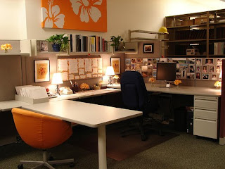 Epiphany living how to decorate your cubicle at work - Work office decorating ideas pictures ...
