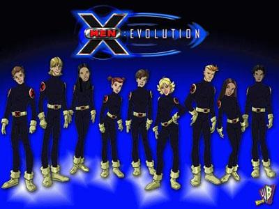 X-Men - Evolution - 1ª a 4ª Temporada Completa HDTV Dublado Torrent Download