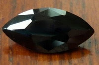 Cubic Zirconia Black marquise stones China Supplier and Wholesale