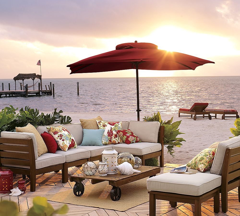 Going Coastal Pottery Barn Part I: The Colours Of India: Kids Outdoor Living