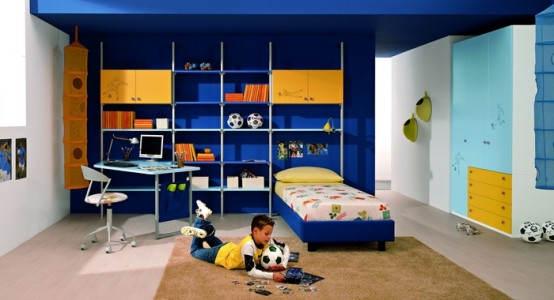 Teenager Rooms Blue And Purple