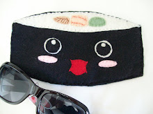 Felt Sushi Kawaii Sunglass Holder