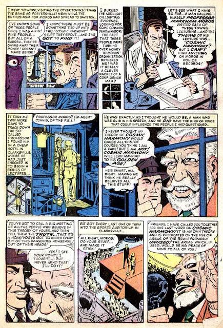 World of Mystery v1 #3 atlas comic book page art by Steve Ditko