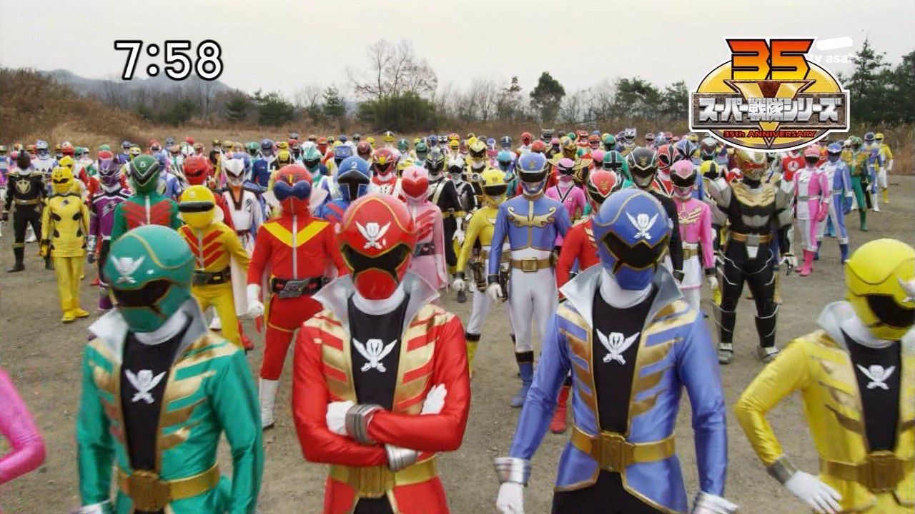 Super Sentai Images: Super Sentai Gathering