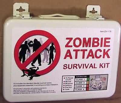 Kit Supervivencia Zombie