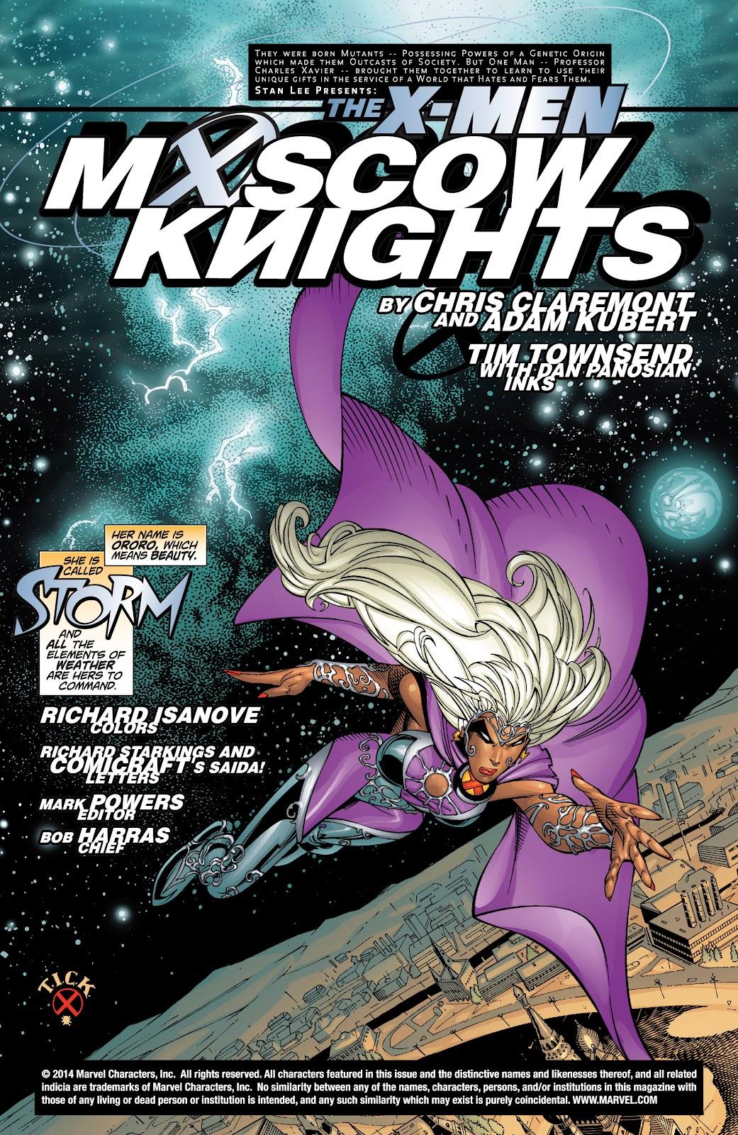 Uncanny X-Men (1963) issue 383 - Page 2