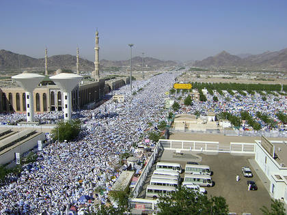 Somalicare Millions Begin Ascent Of Arafat During Hajj