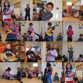 Kinder Gan Preschool Pre K Show and Tell letter G