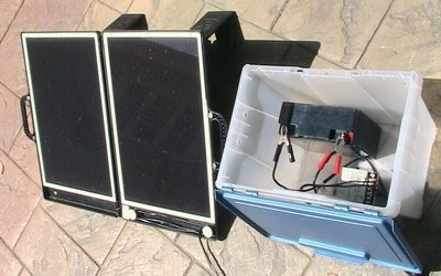 My Small Footprint Solar 12v Battery Charger Diy Instructions