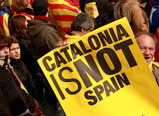 Catalans are not Spanish