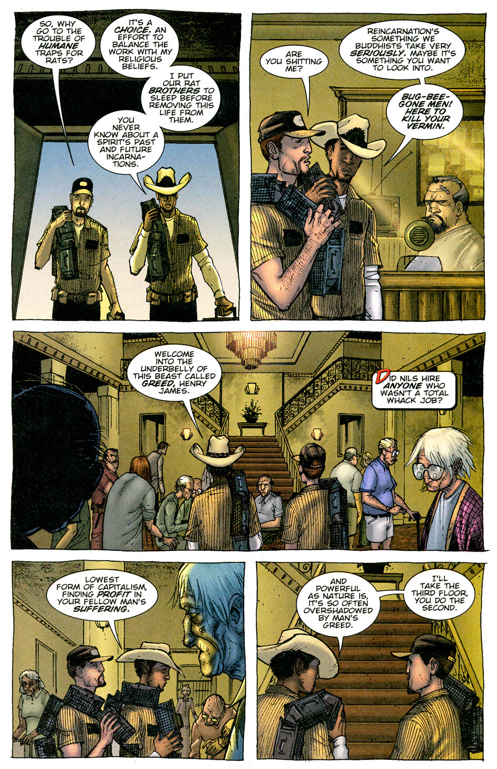 Read online The Exterminators comic -  Issue #3 - 7