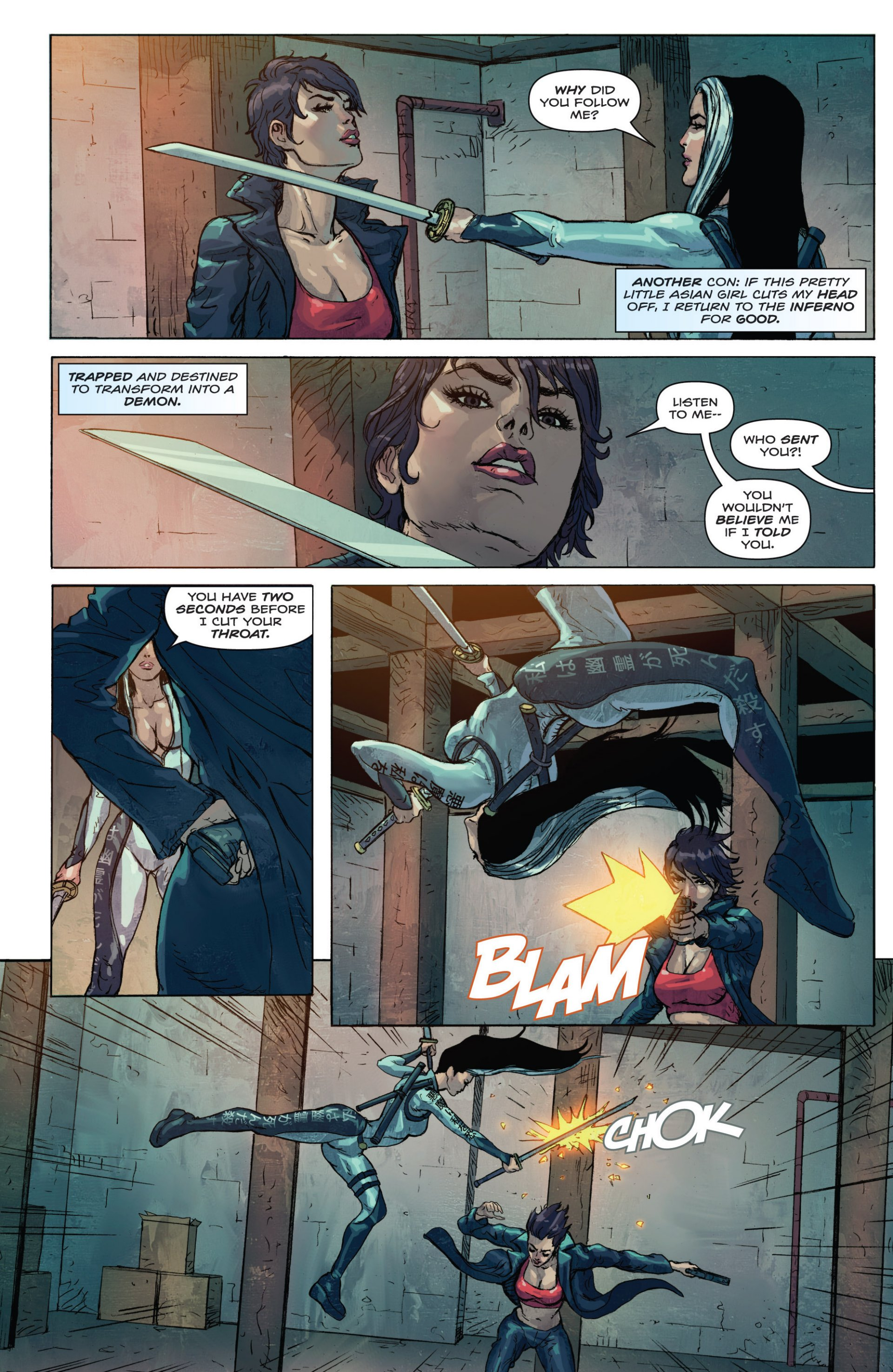 Read online Grimm Fairy Tales presents Inferno: Age of Darkness comic -  Issue # Full - 20