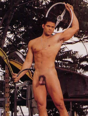 playgirl men in boots