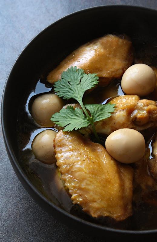 soy braised chicken