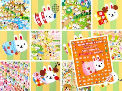 Where Is Strawberry Princess Moshi (Moshi Moshi Kawaii) Moshi Moshi