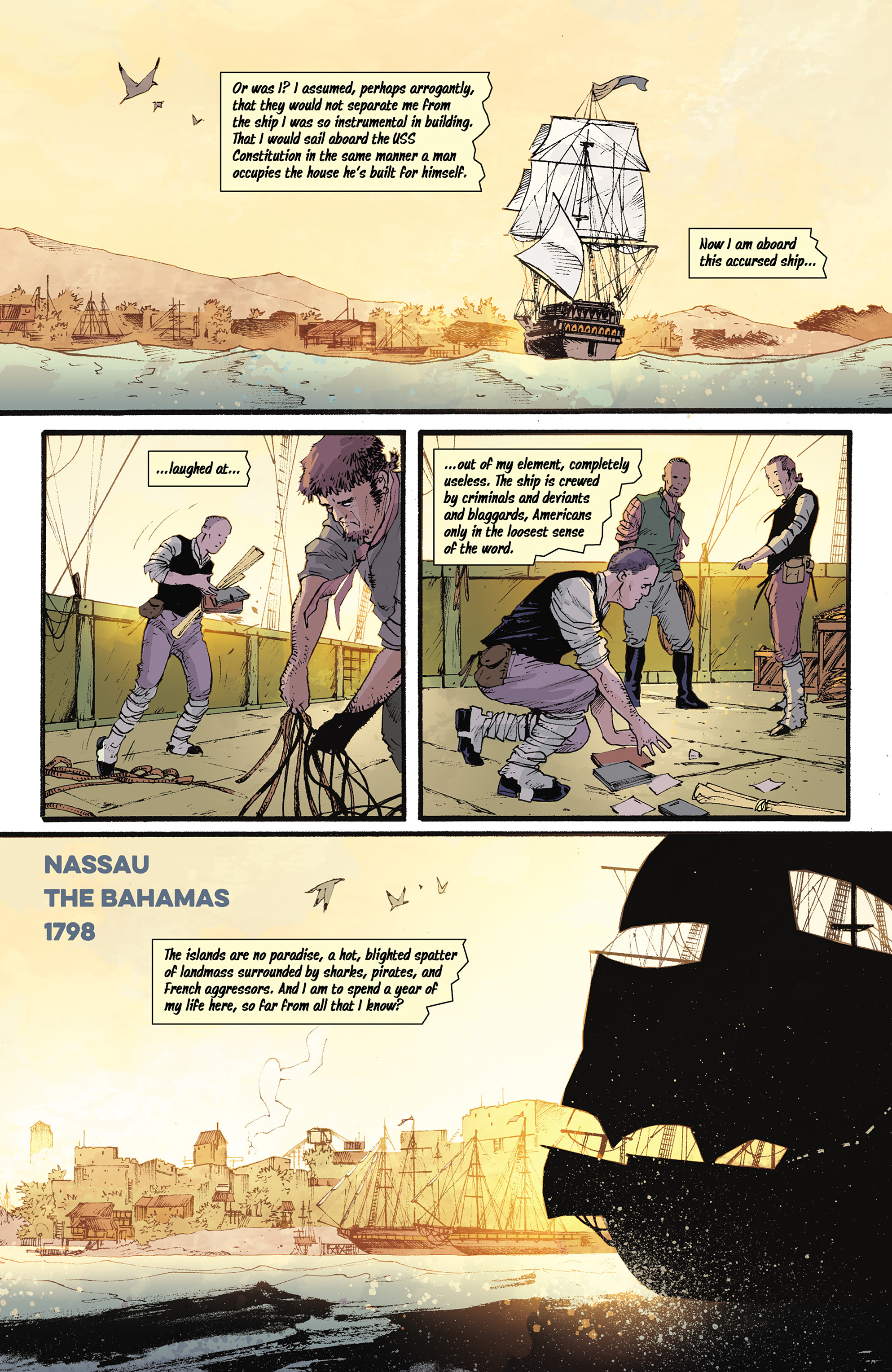 Read online Rebels: These Free and Independent States comic -  Issue #3 - 15