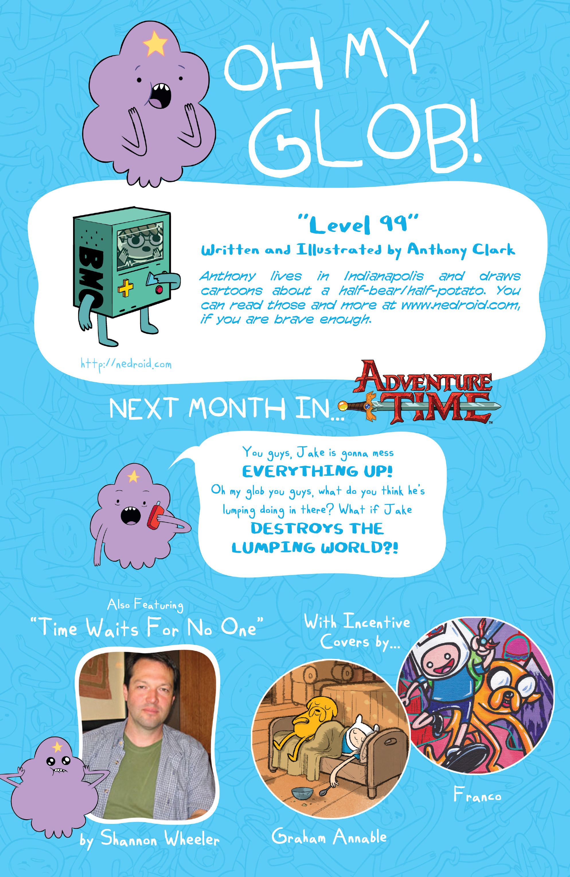 Read online Adventure Time comic -  Issue #6 - 28