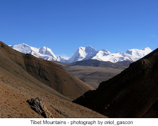 Tibet mountains