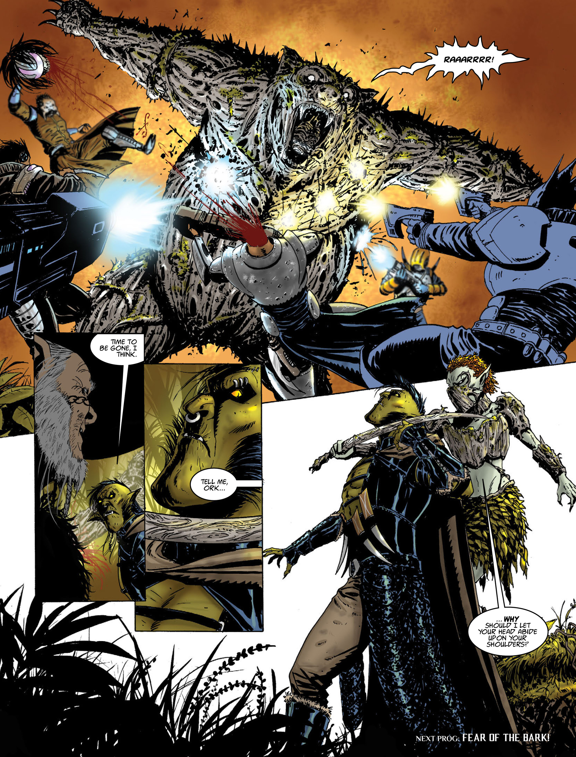 Read online 2000 AD comic -  Issue #2015 - 14