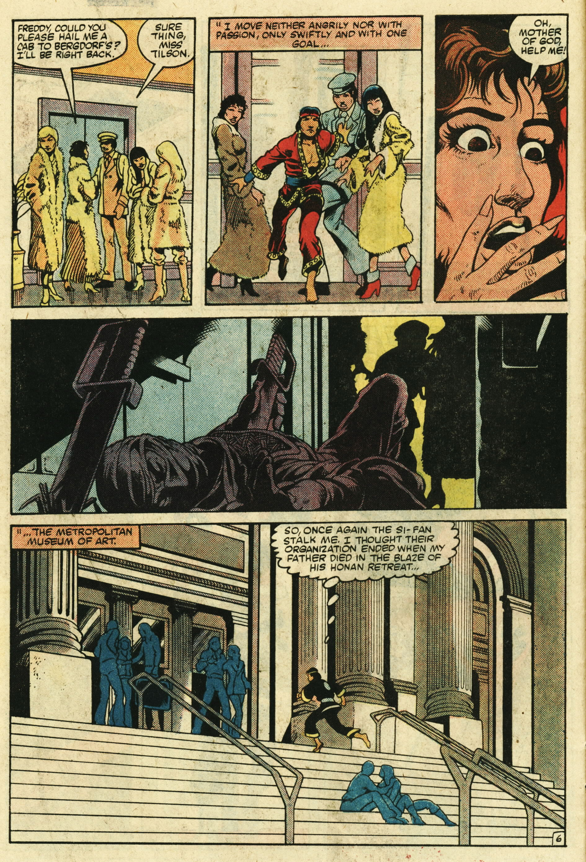 Read online Master of Kung Fu (1974) comic -  Issue #123 - 7