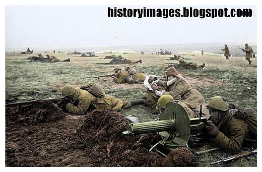 Eastern Front In Color Photos 1942 World War Ii Wwii World